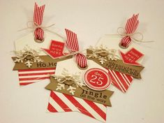 Christmas Tag Time - Red by strappystamper - Cards and Paper Crafts at Splitcoaststampers