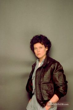 Aliens - Promo shot of Sigourney Weaver