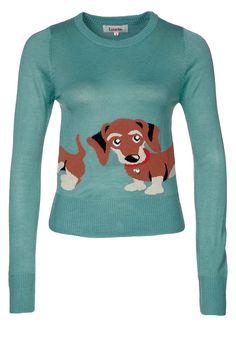 A weenie dog sweater! <3