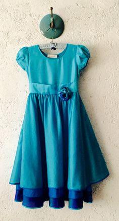 Xai layered silk dress