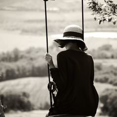 Black & white girl on a swing Diane Arbus, Robert Louis Stevenson, Portraits Victoriens, Scruffy Men, Charles Bukowski, Belle Photo, Black And White Photography, Feminine, In This Moment