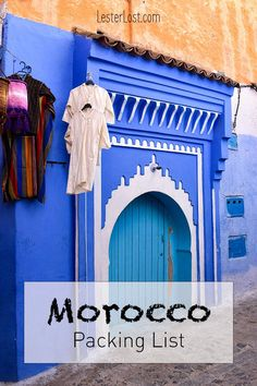Are you wondering what to pack for Morocco? You can trust this Morocco packing list in order to know what to wear in Morocco Morocco Travel | Travel to Morocco | Morocco Packing List | Travel | Packing Tips #morocco #travel #packingtips