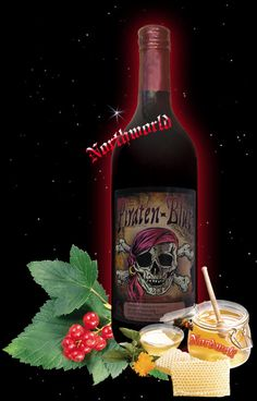 """Honey Mead """"Pirate Blood"""""""