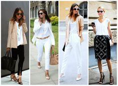 Peça curinga: Camiseta branca | Irmãs Reis