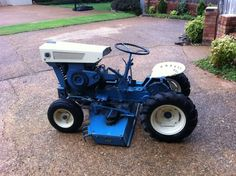 MM Lawn Garden tractor Oliver Tractors Equipment Pinterest