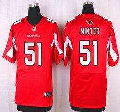 arizona cardinals jersey 51 kevin minter red team color nfl nike elite jerseys