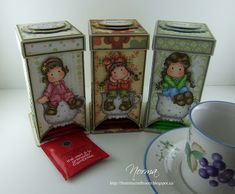 From My Craft Room: Tea-Bag Dispensers - Magnolia-licious Highlites September Challenge