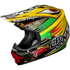 Troy Lee Designs P-51 Air MotoX/Off-Road/Dirt Bike Motorcycle Helmet - http://downhill.cybermarket24.com/troy-lee-designs-p51-air-motoxoffroaddirt-bike-motorcycle/