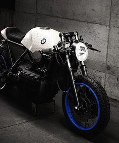 impuls motorcycles asks pair of munich artists to reinterpret custom BMW K100