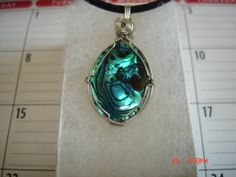 wire wrap Abalone necklace pendant sea shell by CasieCreations, $21.00  https://www.etsy.com/listing160615222/wire-wrap-abalone-necklace-pendant-sea?
