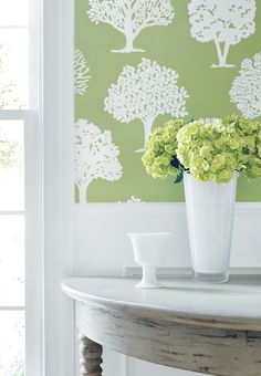 Russell Square Wallcovering | Thibaut's Graphic Resource Collection