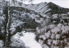 Varlaam art print from original ink painting Ink Painting, Art Prints, The Originals, Outdoor, Etsy, Vintage, Art Impressions, Outdoors, Fine Art Prints