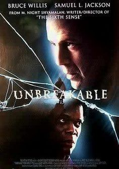 Unbreakable is M. Night Shyamalan's follow-up to classic The Sixth Sense. Bruce Willis stars as a man who survives a plane crash where everyone else dies but him. It's not the Sixth Sense. It's a different movie. However, as suspenseful as it was, I don't think Shyamalan captured the magic he created in the past. Decent movie to check out but don't expect to see another Sixth Sense.