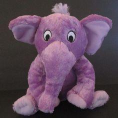 "Kohl's Cares For Kids The Nose Book Plush 11"" Stuffed Animal Purple Elephant #2 #KohlsCaresforKids"