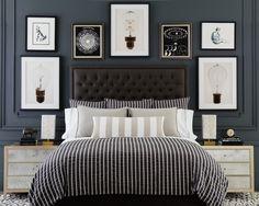 Parker Duvet Cover & Shams+ Kelly Shams + Helix Sheets  + Alex Decorative Pillow