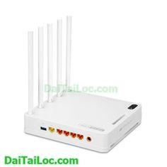 Totolink a5004ns băng tần kép Gigabit AC1600 5 angten chính hãng giá rẻ