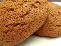 Old fashion soft molasses cookies recipe. Soft chewy cookies made with dark molasses, ginger, and cinnamon--just like those grandma used to make. Molasses Recipes, Ginger Molasses Cookies, Dark Molasses, Cookie Desserts, Just Desserts, Cookie Recipes, Dessert Recipes, Grandma's Recipes, Cookie Ideas