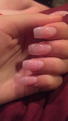 Nails Rosa Nägel, Glitzer Facial Hair As It Is Found In Cultures Around The World Article Body: Faci Pink Glitter Nails, Summer Acrylic Nails, Cute Acrylic Nails, Glitter Gel Nails, Stylish Nails, Trendy Nails, Nagel Hacks, Aycrlic Nails, Fire Nails