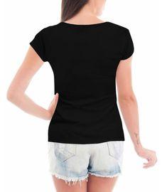 Camiseta Criativa Urbana Abençoada Frases Religiosas Blusa Moda Blogueira  Blusinha Preto 1af1e1e1292