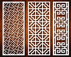 chinese old style window grille