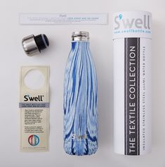 s'well #packaging santorini bottiglia thermos - S´well - bottiglie, thermos, acciaio inox, | Newformsdesign