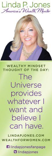 Wealth is within your reach. Start with your thoughts!  http://lindapjones.com/blog
