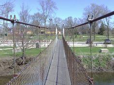 Swing Bridge, Belvidere Park