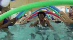 Meredith Mathews East Madison YMCA's Water Fitness Class