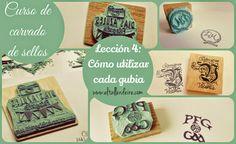 Curso de carvado de sellos: LECCIÓN 4: Cómo utilizar cada gubia