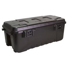 plano quart black storage trunk - Lockable Storage Box