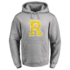 Rochester Yellow Jackets Classic Primary Logo Pullover Hoodie - Ash
