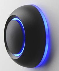Sonnette LED : spOre True - vue profil bleu