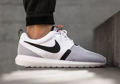 Nike Roshe Run NM Breeze - White - Black - Hot Lava - SneakerNews.com