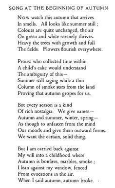 Love Poem by Elizabeth Jennings