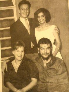 Che y Aleyda en la boda de una sobrina, 1965.