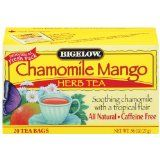 Bigelow Chamomile Mango Herbal Tea, 20-Count Boxes (Pack of 6) (Grocery)By Bigelow Tea