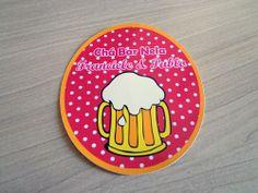 Rótulo personalizado de cerveja para Chá Bar - Atellier Print