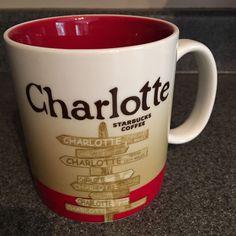 2009 Starbucks City Mug Charlotte Collectors Series Coffee Tea Cocoa Cup Glass     eBay