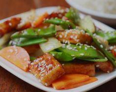 Mongolian Tofu Stir Fry | Vegan For Everyone