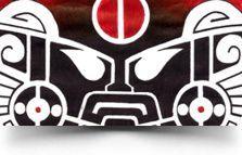 tribal mask tattoo: http://www.warvox.com/tribal-mask-tattoo-3/