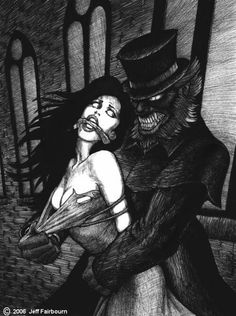 "Sorry to interrupt the storyline, but this is my entry for the ""Gothic Ravished"" contest on the Monsters a. Dark Fantasy Art, Dark Art, Caricatures, Werewolf Art, Halloween Artwork, Vampires And Werewolves, World Of Darkness, Gothic Dolls, Dark Thoughts"