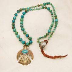 Flight Necklace | Peyote Bird Designs. Yummy beads - #CowgirlChic