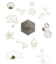 Modern Geometric Home Decor by Modlode on Etsy.  https://www.etsy.com/shop/ModLode?ref=hdr_shop_menu