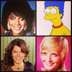 Who's your favorite TV mom?  #happymothersday #tvmoms #margesimpson #clairehuxtable #carolbrady #lorelaigilmore