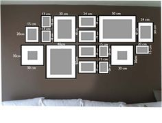 1000 id es sur le th me cadre mural disposition sur pinterest mise en page de cadre. Black Bedroom Furniture Sets. Home Design Ideas