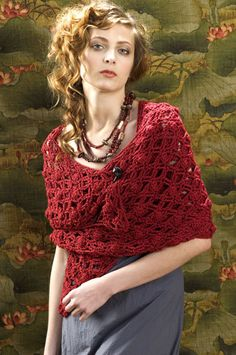 Free Crochet Pattern: Naples Wrap