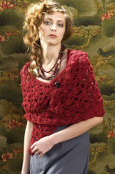 Free Crochet Pattern: Naples Wrap
