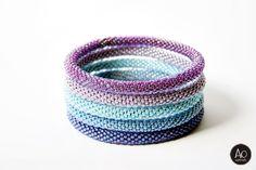 aga opalinska: maj 2014 Beadwork, Beading, Aga, Cuff Bracelets, Crochet, Jewelry, Beads, Jewlery, Jewerly