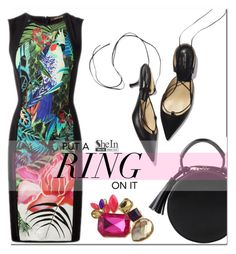 """""""Put a ring on it"""" by mirisproleca ❤ liked on Polyvore featuring LBD and ring"""