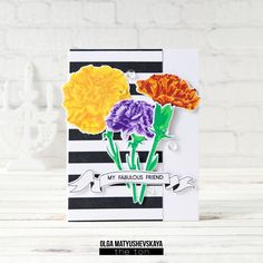 #card with #stamps by The Ton